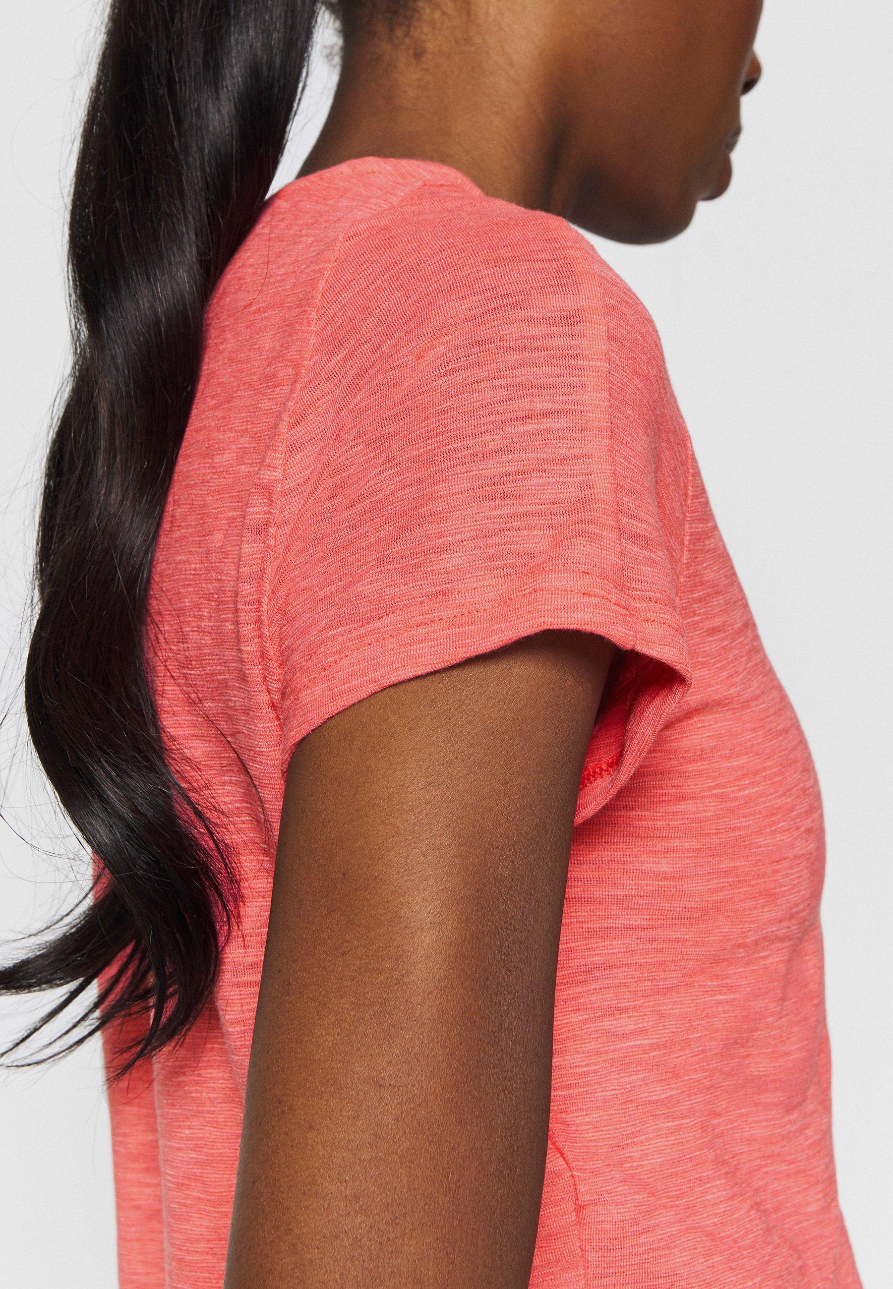 adidas Performance WINNERS TEE - Print T-shirt - coral lT4Ux