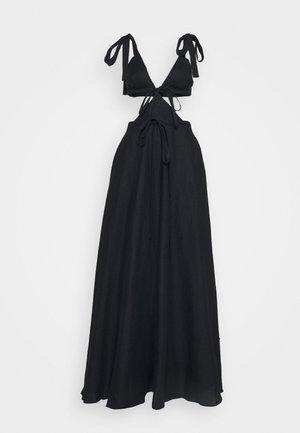 CUT OUT TIE DRESS - Robe de cocktail - black