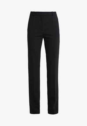 THE REGULAR TROUSERS - Kalhoty - black