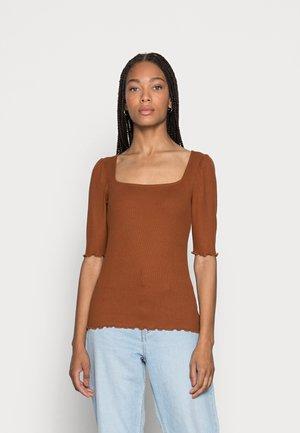 Blouse - amber brown