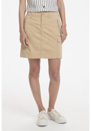 SHANIA  - A-line skirt - beige