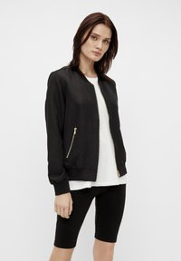 Object - GLÄNZENDE - Bomber Jacket - black - 0