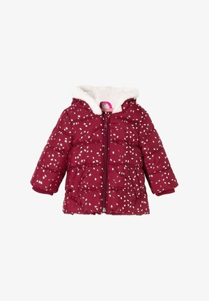 Winter jacket - pink aop