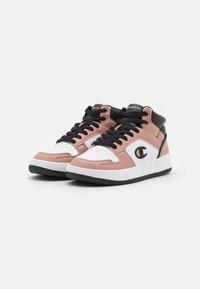 Champion - MID CUT SHOE REBOUND 2.0  - Basketball shoes - pink/white/black - 1