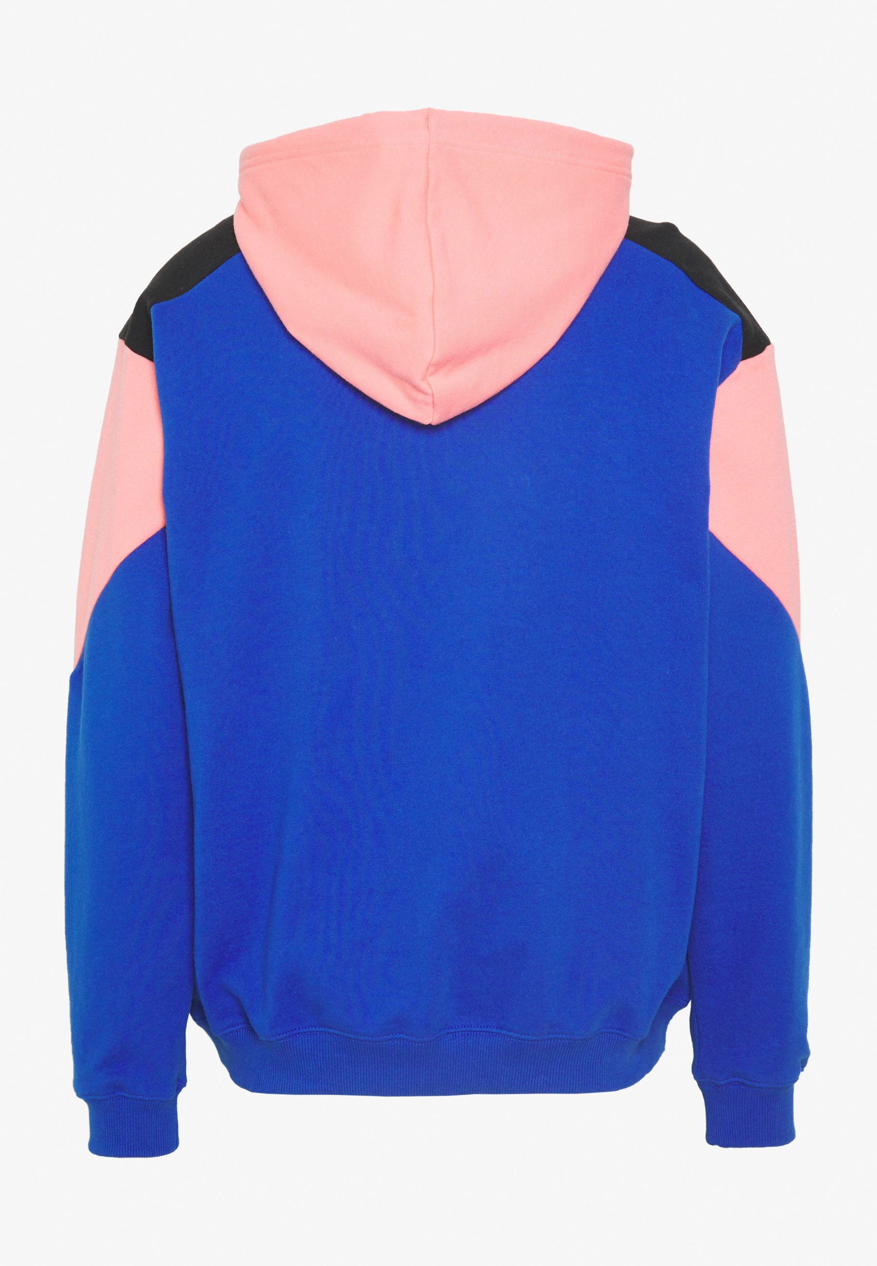 The North Face EXTREME HOODIE - Sweat à capuche - blue/miami pink/ black