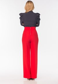 Diyas London - CHERRY - Trousers - red - 2