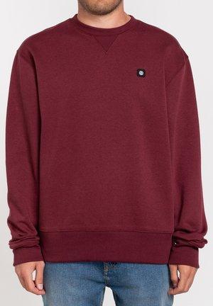 Sweatshirt - vintage red