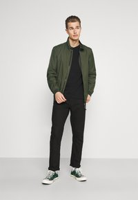 Marc O'Polo - JACKET REGULAR FIT STAND UP COLLAR - Summer jacket - dried herb - 1