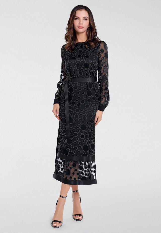 Cocktail dress / Party dress - schwarz-creme