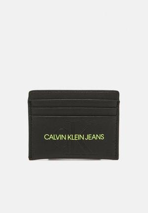 SCULPTED MONO CARDCASE - Wallet - black