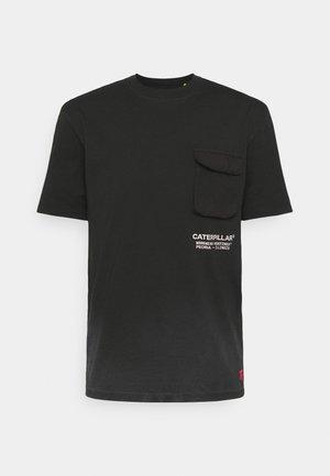 WORKWEAR POCKET TEE - T-shirt print - black