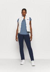 Salewa - PUEZ DRY TEE - T-shirts print - poseidon melange - 1