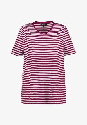 Print T-shirt - magnolienrot