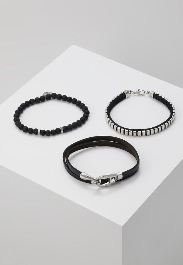 STATEN COMBO SET - Armbånd - black