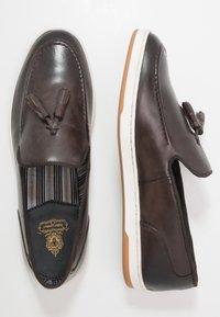 Base London - POGO - Loaferit/pistokkaat - burnished brown - 1