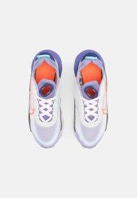 Nike Sportswear - NIKE AIR MAX 2090  - Sneakers laag - white/bright mango/purple dust/light thistle - 3