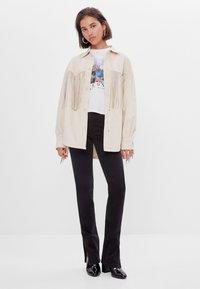 Bershka - Summer jacket - white - 1