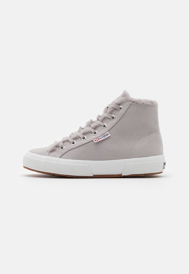 2795  - High-top trainers - light grey