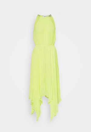 HALTER CHAIN - Cocktail dress / Party dress - limeade