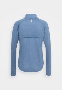 Under Armour - STREAKER HALF ZIP - Long sleeved top - mineral blue - 6