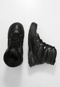 The North Face - THERMOBALL LACE II - Vinterstøvler - shiny black/iron gate grey - 1
