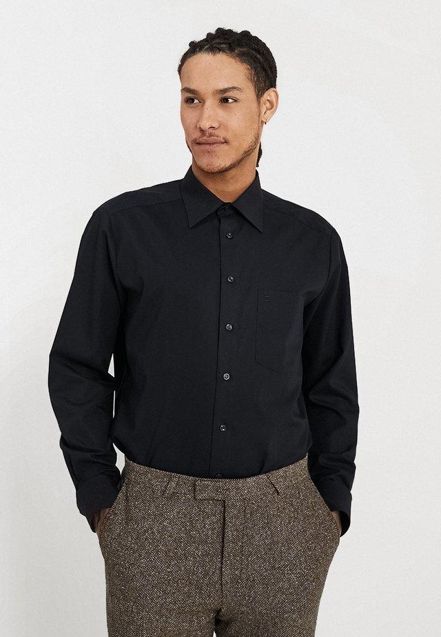 REGULAR FIT - Formální košile - schwarz
