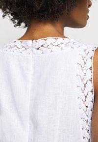 MICHAEL Michael Kors - STRIPED ROPE MINI DRESS - Day dress - white - 5