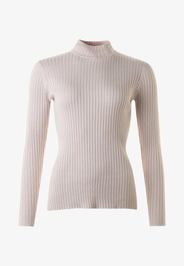 LEONORA - Stickad tröja - soft rose