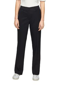 s.Oliver BLACK LABEL - Trousers - navy - 4