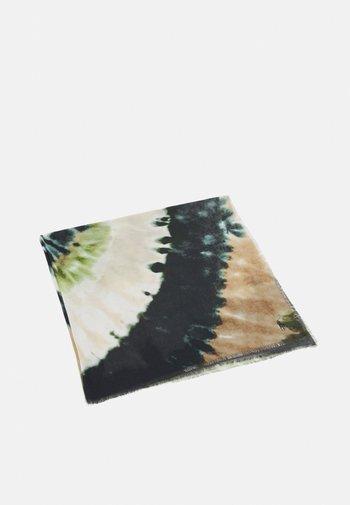 BLEND-TIE DYE SQUARE - Šátek - brown/multi
