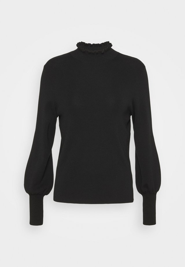 TAYA - Sweter - black