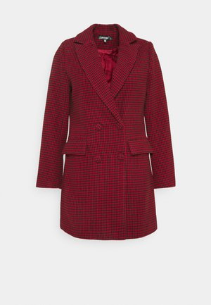 DOGTOOTH BLAZER DRESS - Vestido informal - red