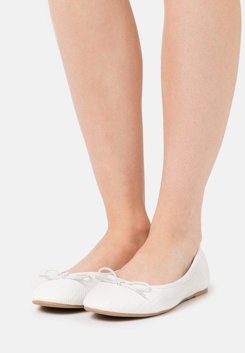 Anna Field - Ballerinat - white