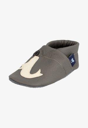 MODE E.K. KRABBEL ROBBE - Baby shoes - grau/beige