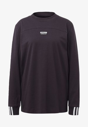 R.Y.V. SPORTS INSPIRED LONG SLEEVE T-SHIRT - Långärmad tröja - noble purple