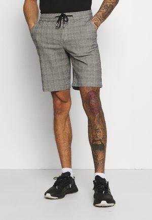 BROOKS - Shorts - grey mustard