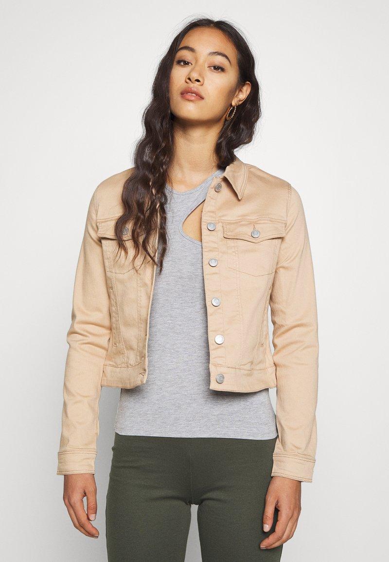 Vero Moda - VMHOT SOYA JACKET - Lehká bunda - beige