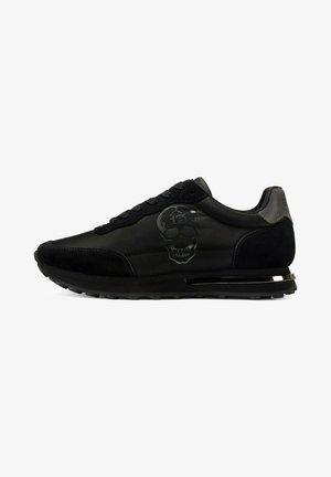 LUCKY - Sneakers laag - black gunmetal black