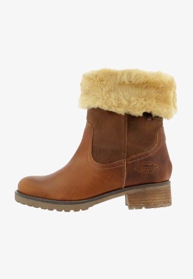 MICHAELA HIGH TMB  - Winter boots - cognac