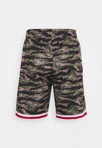 Mitchell & Ness - NBA HOUSTON ROCKETS TIGER CAMO SWINGMAN SHORT - Sports shorts - multi coloured - 1