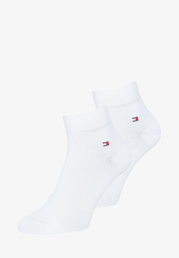 Tommy Hilfiger - MEN QUARTER 2 PACK - Socks - white
