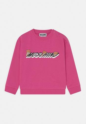Sweatshirt - fuxia