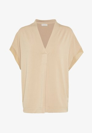 OLIVERZA - Camiseta estampada - tan