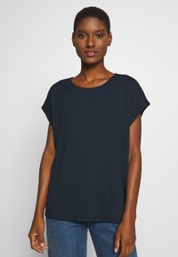 TOM TAILOR - CRINCLE - Basic T-shirt - sky captain blue - 0