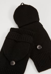 Even&Odd - WOOL - Rukavice bez prstů - black - 3