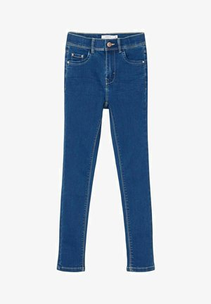 HIGH WAIST SKINNY FIT - Jeans Skinny Fit - medium blue denim