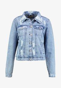 Lez a Lez - JAQUETA - Veste en jean - blue denim - 4