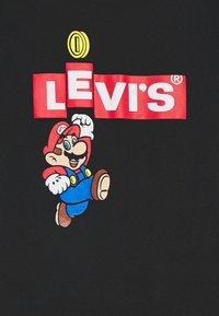 Levi's® - LEVIS MARIO BOX TAB TEE - T-shirt print - black - 2