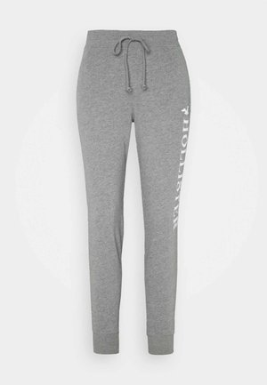 TIMELESS LOGO JOGGER - Tracksuit bottoms - grey