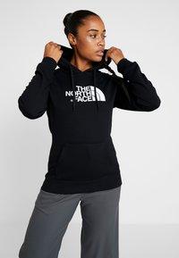 The North Face - WOMENS DREW PEAK HOODIE - Hoodie - black/white - 0